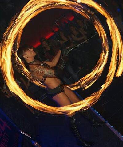 Feuershow sexy